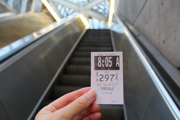 トロント地下鉄トランスファー