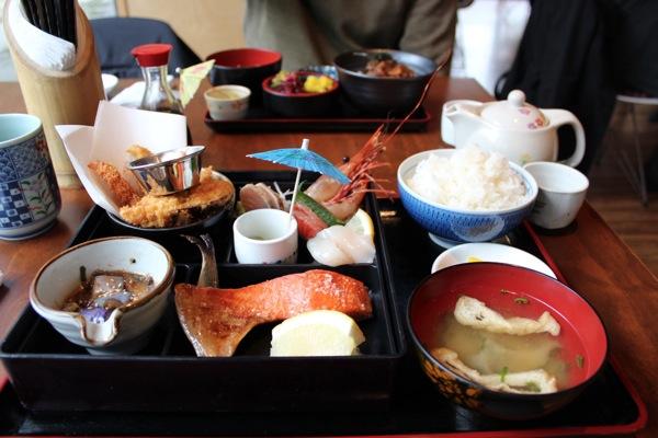 バンクーバーで食べた日本食