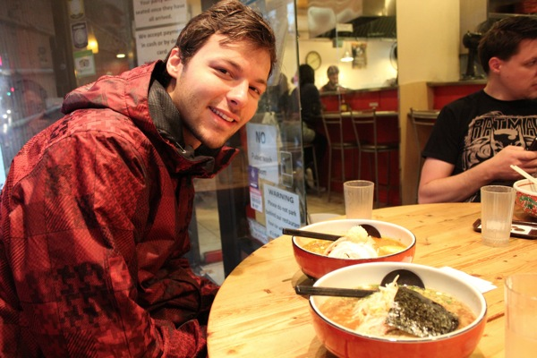 バンクーバーで食べたラーメン